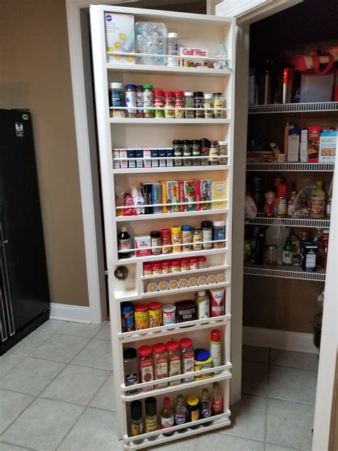 Pantry Door Storage Ideas