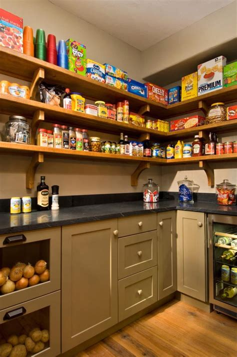 Pantry Plans And Designs
