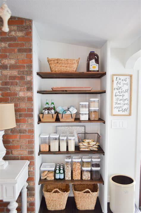 Pantry Shelf Ideas DIY