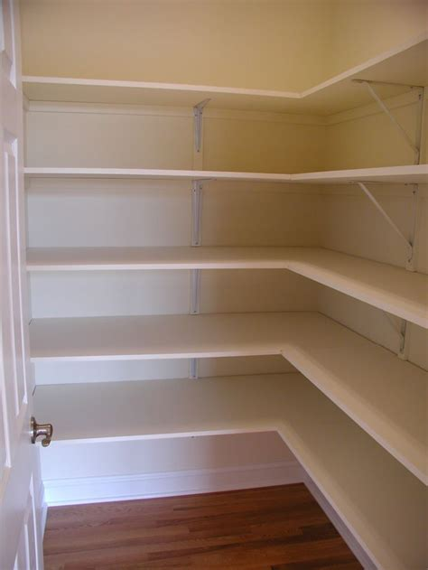 Pantry Shelving Wood Diy Shutters