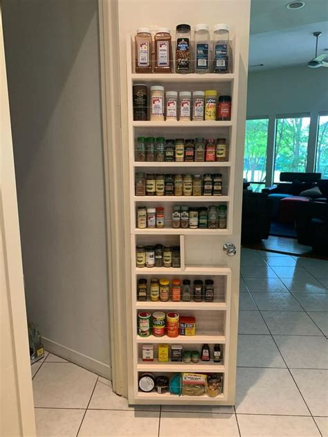 Pantry Spice Rack Plans