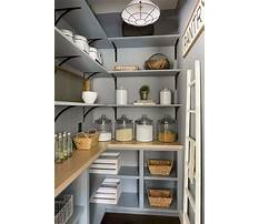 Best Pantry cabinet shelving ideas