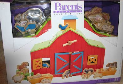 Parents Brand Wood Barn Toy Buildable