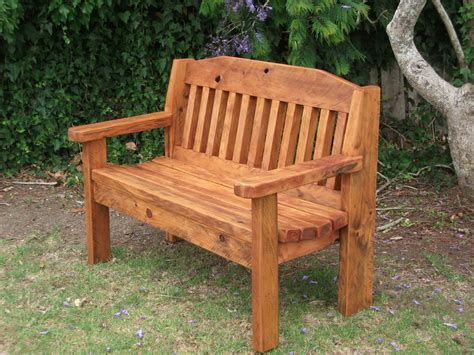 Park Bench And Table Plans