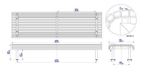 Park-Bench-Plan-Dwg
