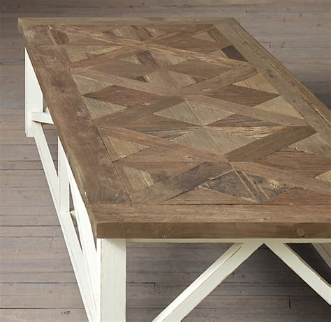 Parquet Coffee Table Diy Restoration