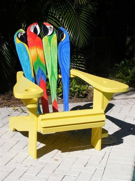 Parrot-Head-Adirondack-Chair