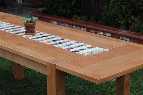 Parsons Dining Table Diy