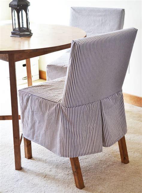 Parsons-Chair-Slipcover-Diy