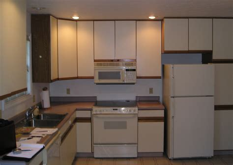 Particle Board Kitchen Cabinets Makeover
