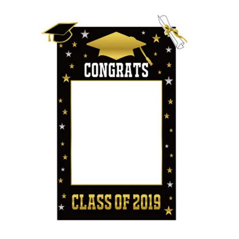 Party Picture Frames DIY