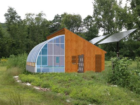 Passive Solar Greenhouse Ideas