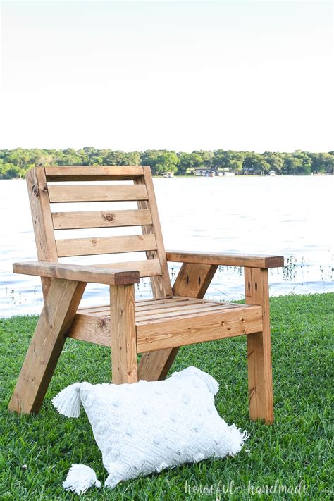 Patio Chair Design Plans