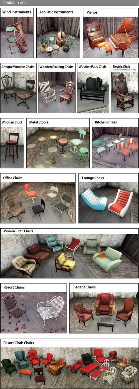 Patio Chair Plans Fallout 76