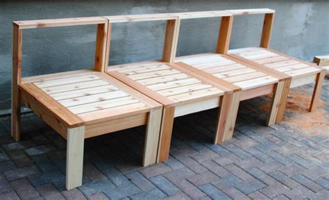 Patio Furniture Construction Plans