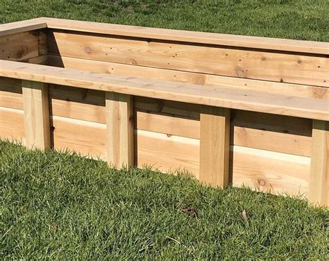 Patio Garden Planter Box Plans
