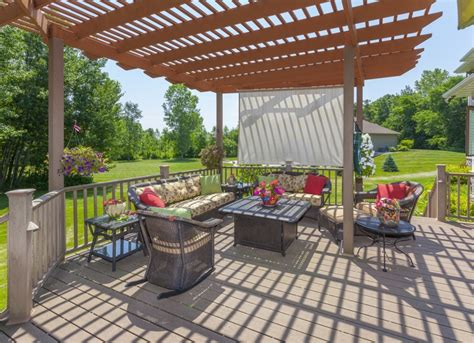 Patio Pergola Ideas Shade