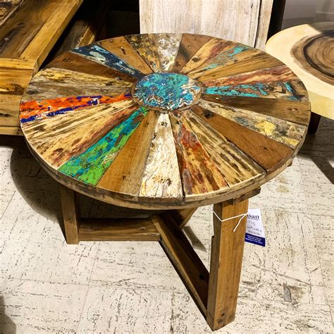 Patio Round Table Diy Paint