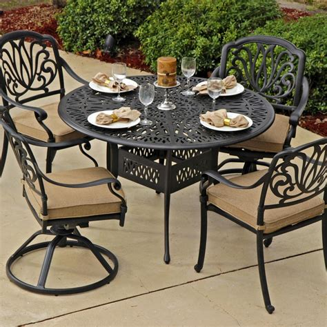 Patio Round Table With 4 Chairs Under $400