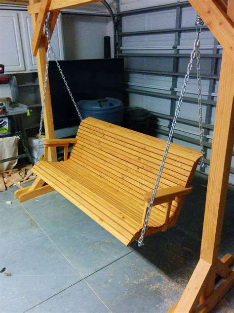 Patio Swing Building Plans
