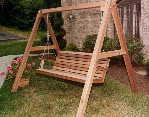 Patio Swing Stand Plans