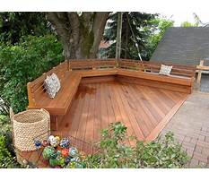 Best Patio bench ideas