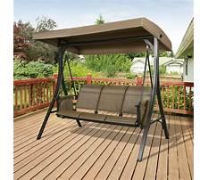 Best Patio bench swing