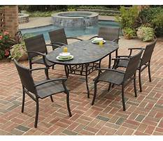 Best Patio chairs and table