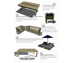 Best Patio furniture plans