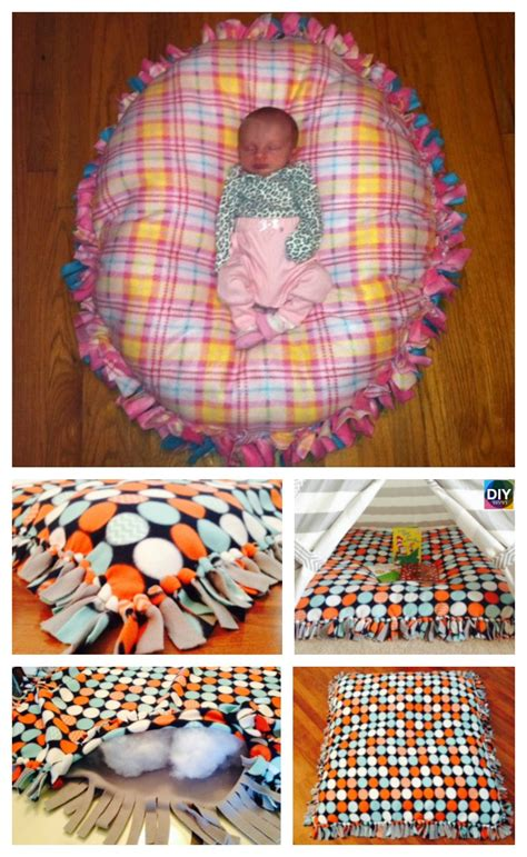 Pattern Bed Pillow Diy Wrapping