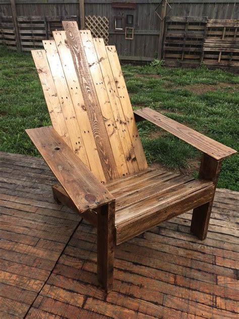 Pattern For Adirondack Chairs Using Pallets For Fencing