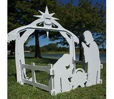 Best Pattern for large nativity scene