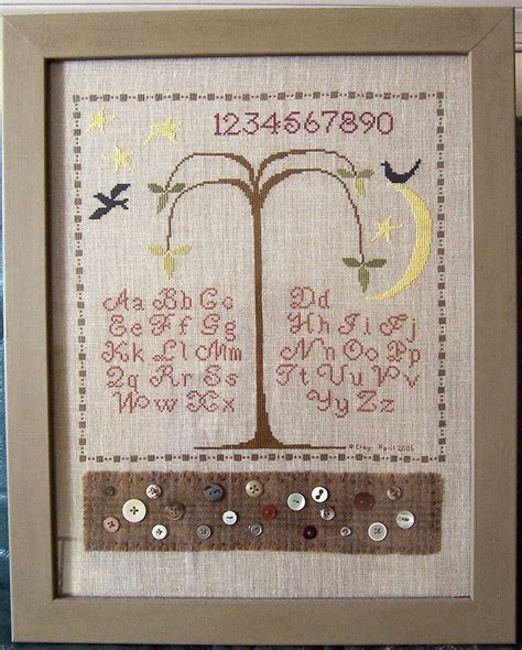 Patterns For Cross Stitch Samplers
