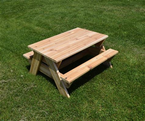 Patterns For Kids Picnic Tables