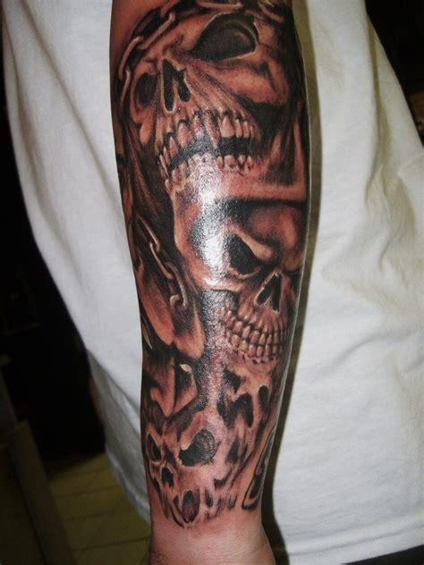 Patterns For Men Skull Tattoo