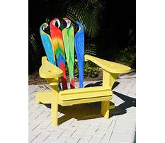 Best Patterns for painting adirondack chairs