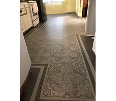 Best Patterns to paint on vinyl flooring