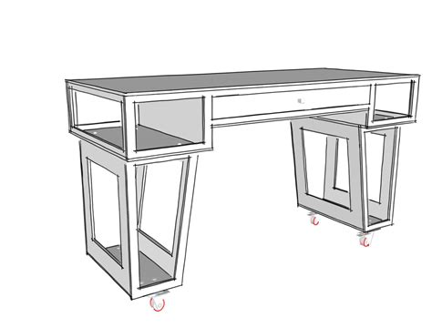 Paulk Stand Up Desk Plans