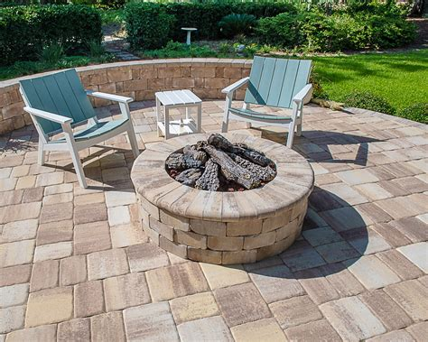 Paver Fireplace Plans