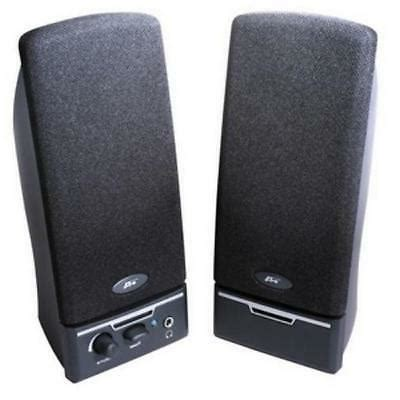 Pds Ca-2012 2pc 2w Speakers W/Cloth Grill & Headphone