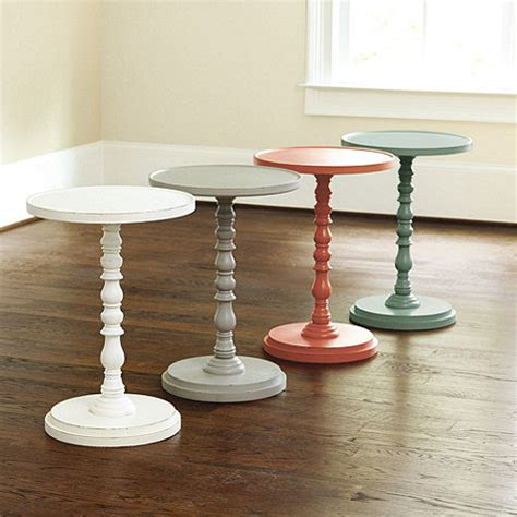 Pedestal End Table Diy