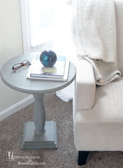 Pedestal End Table Diy Tufted