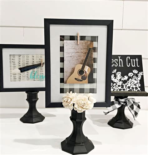 Pedestal Frame Diy Projects
