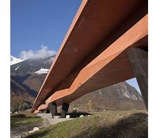 Best Pedestrian bridge construction detail