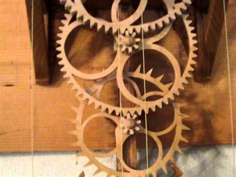 Peg-Gear-Clock-Plans