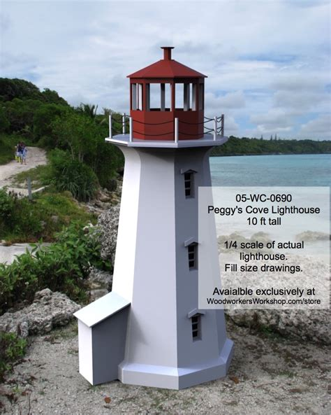 Peggys Cove Lighthouse Woodworking Plans
