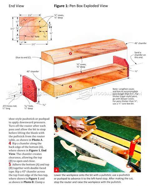 Pen-Box-Plans
