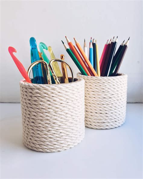 Pencil Holder For Desk Diy