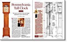 Pennsylvania-Tall-Clock-Plans