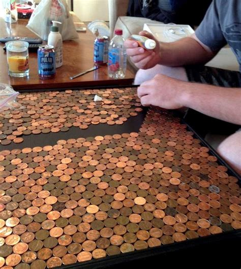 Penny-Table-Top-Diy